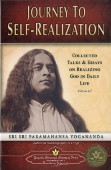 Journey to Self Realization, Paperback Book