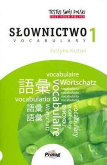 Test Your Polish: Vocabulary : 1, Paperback Book