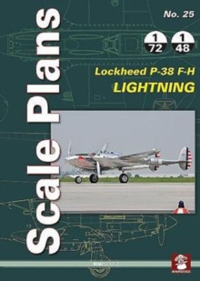 Scale Plans No. 25: Lockheed P-38 F-H Lightning, Paperback / softback Book