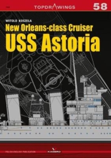 New Orleansclass Cruiser USS Astoria, Paperback / softback Book