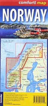 comfort! map Norway, Sheet map Book