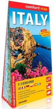 comfort! map Italy, Sheet map Book