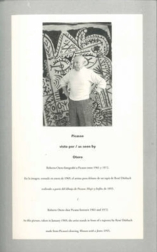 Picasso as Seen by Otero, Paperback / softback Book