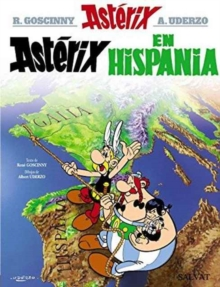 Asterix in Spanish : Asterix en Hispania, Hardback Book