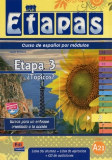 Etapa 3 Topicos? : Student Book + Exercises + CD, Mixed media product Book