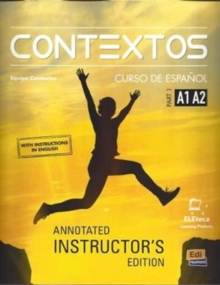 Contextos : Levels A1-A2: Tutor Manual: With Access Code to the Eleteca : Part 1, Paperback / softback Book