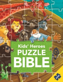 Kids' Heroes Puzzle Bible, Hardback Book