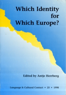 Which Identity for Which Europe, Paperback Book