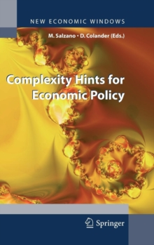 Complexity Hints for Economic Policy, Hardback Book