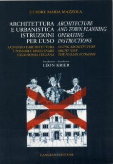 Architecture & Town Planning Operating Instructions, Paperback Book