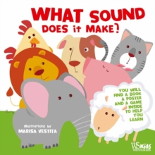 What Sounds Does it Make? The Animal Memory Game, Paperback / softback Book