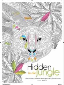 Hidden in the Jungle Colouring Book, Paperback / softback Book
