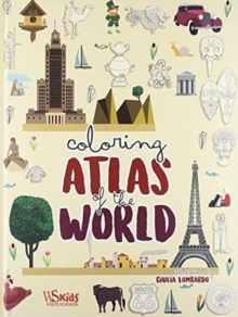 Colouring: Atlas of the World, Hardback Book