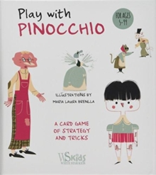 Play with Pinocchio: A Card Game of Strategy and Tricky, Multiple copy pack Book
