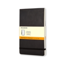 Moleskine Soft Cover Large Ruled Reporter Notebook, Notebook / blank book Book