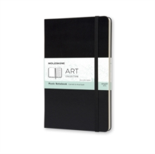 Moleskine Large Music Notebook, Notebook / blank book Book