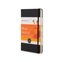 Moleskine Passion Music Journal, Notebook / blank book Book