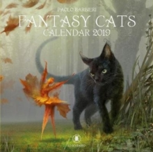 Fantasy Cats Calendar 2019, Calendar Book