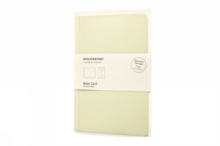 Moleskine Note Card With Envelope - Pocket Tea Green, Cards Book