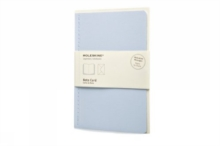 Moleskine Note Card With Envelope - Large Iris Blue, Cards Book