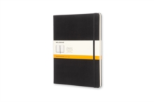 Moleskine Extra Large Ruled Notebook Hard Black, Notebook / blank book Book