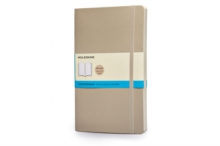 Moleskine Soft Large Khaki Beige Dotted Notebook, Notebook / blank book Book