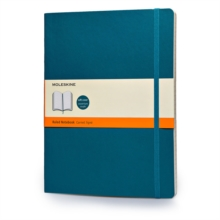 Moleskine Soft Extra Large Underwater Blue Ruled Notebook, Notebook / blank book Book