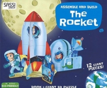 ROCKET 3D PUZZLE & BOARD BOOK,  Book