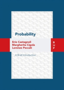 Probability : A Brief Introduction, Paperback / softback Book