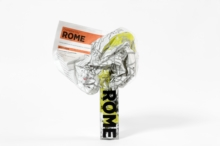 Rome Crumpled City Map, Sheet map Book