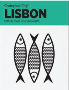 Lisbon Crumpled City Map, Sheet map Book
