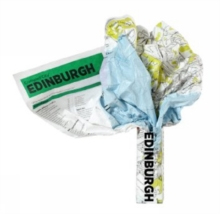 Edinburgh Crumpled City Map, Sheet map Book