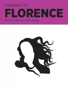 Florence Crumpled City Map, Sheet map Book