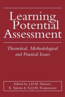 Learning Potential Assessment, Hardback Book
