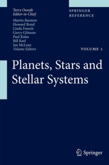 Planets, Stars and Stellar Systems, Hardback Book