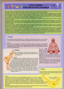 Yoga Series for the Seven Chakras, Poster Book