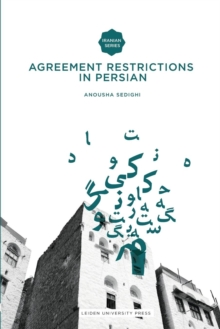 Agreement Restrictions in Persian, Paperback / softback Book