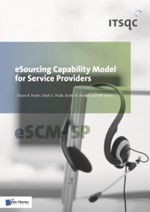Esourcing Capability Model for Service Providers, Paperback Book