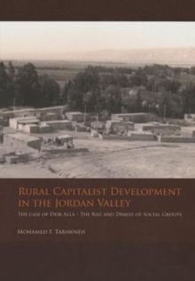 Rural Capitalist Development in The Jordan Valley, Paperback Book