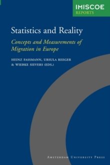 Statistics and Reality : Concepts and Measurements of Migration in Europe, Paperback Book