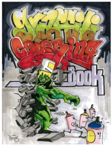Graffiti Coloring Book, Paperback Book