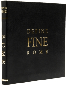 Define Fine City Guides Rome, Leather / fine binding Book