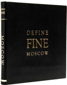 Define Fine City Guide Moscow, Leather / fine binding Book