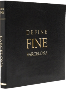 Define Fine City Guide Barcelona, Leather / fine binding Book
