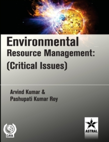 Environmental Resource Management: (Critical Issues), Hardback Book