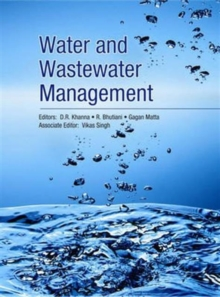 Water and Wastewater Management in 2 Vols, Hardback Book