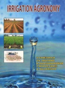 Irrigation Agronomy, Hardback Book