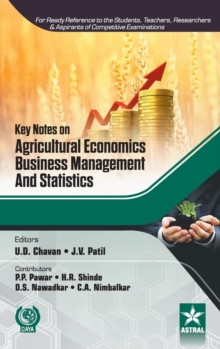 Key Notes on Agricultural Economics, Business Management and Statistics, Hardback Book