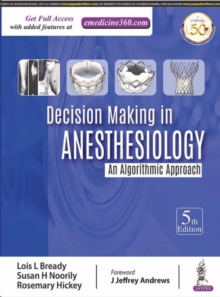 Decision Making in Anesthesiology, Hardback Book