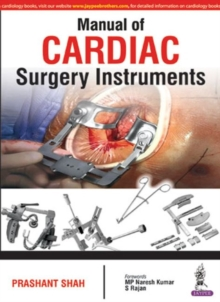 Manual of Cardiac Surgery Instruments, Paperback Book